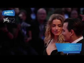 Johnny Depp Black Mass Red Carpet (2015 Venice International Film Festival)