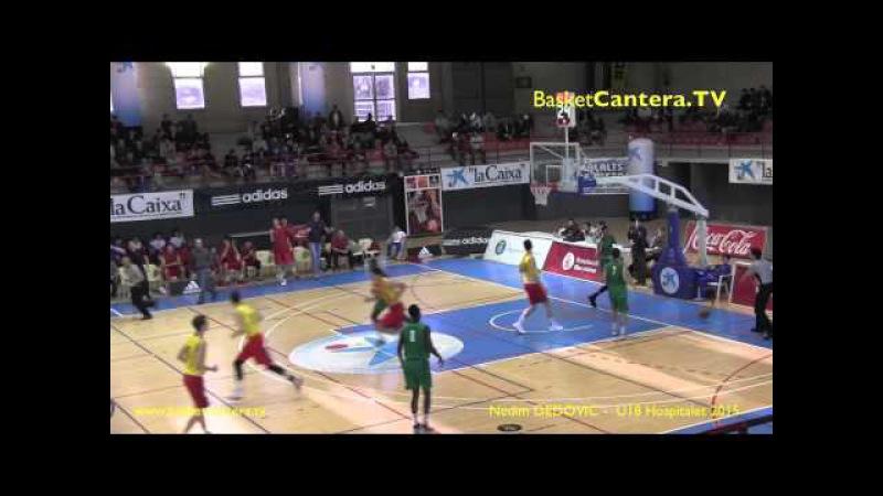 Highlights NEDIM DEDOVIC (´97) FC.Barcelona. Torneo AdidasNGT U18 Hospitalet 2015 (BasketCantera.TV)