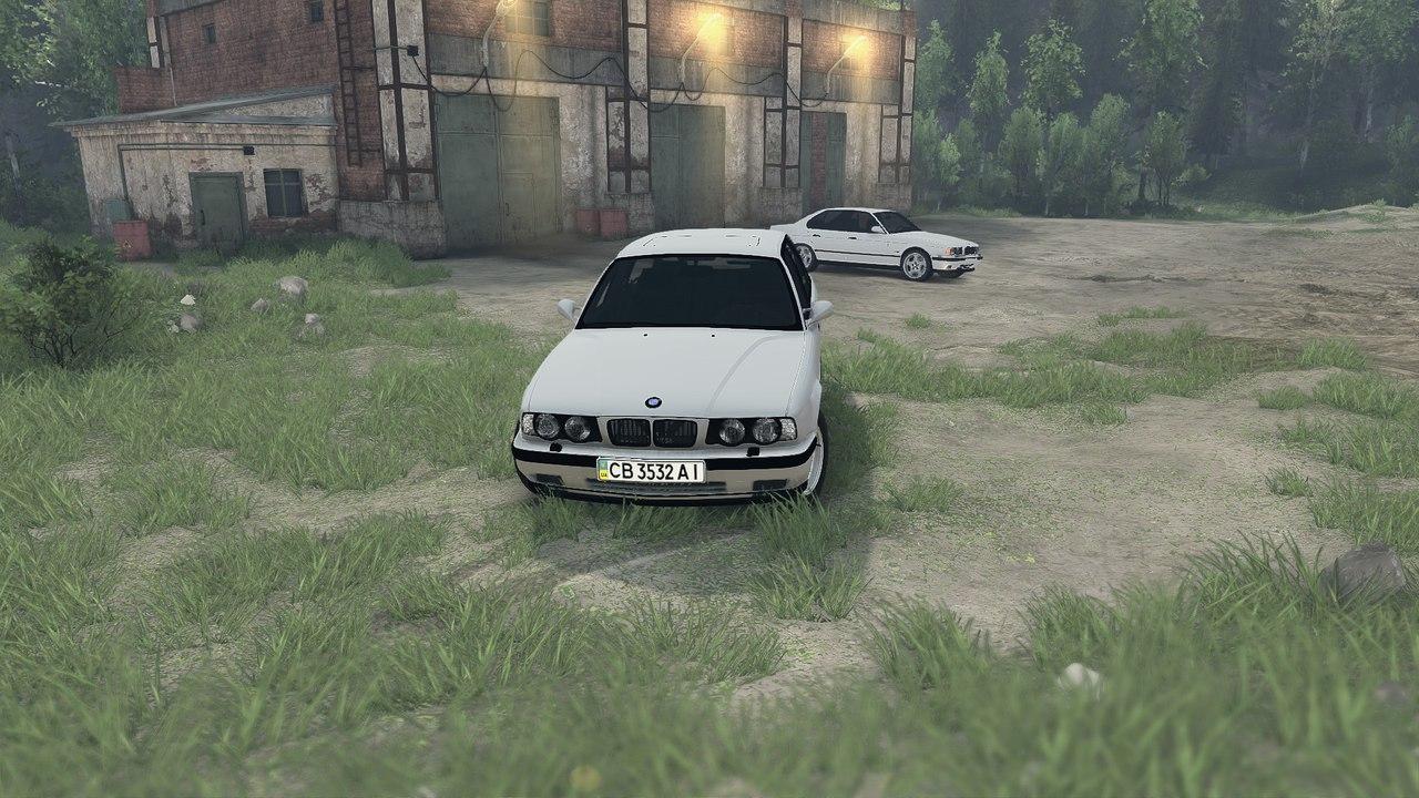 BMW e34 525iX touring v.1.0 для Spintires - Скриншот 1