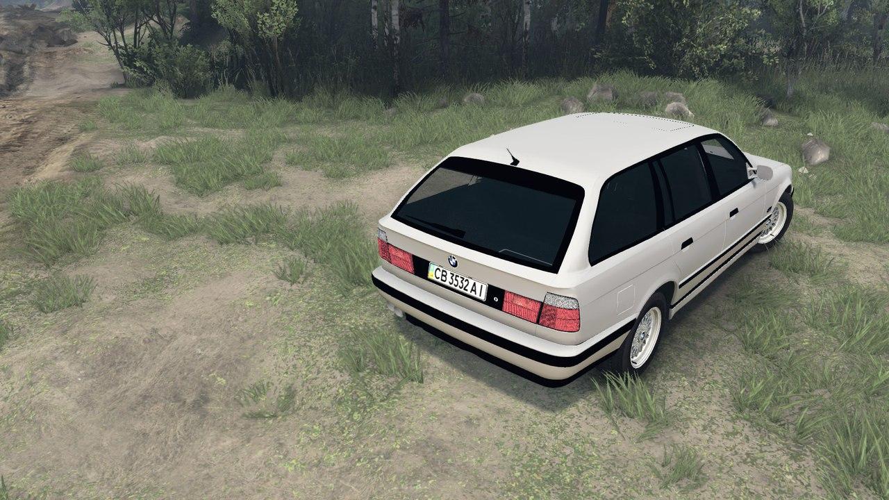 BMW e34 525iX touring v.1.0 для Spintires - Скриншот 3
