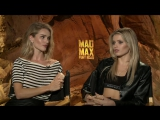 Mad Max Fury Road Rosie Huntington Whiteley &amp Abby Lee Exclusive Interview