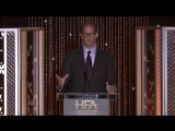 Pete Docter accepts the Hollywood Animation Award for directing «Inside Out»