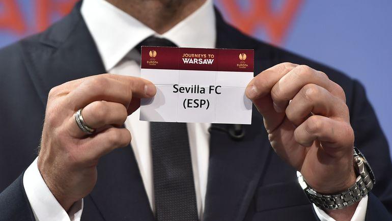 В Ньоне состоялась жеребьевка 1/4 финала Лиги Европы.