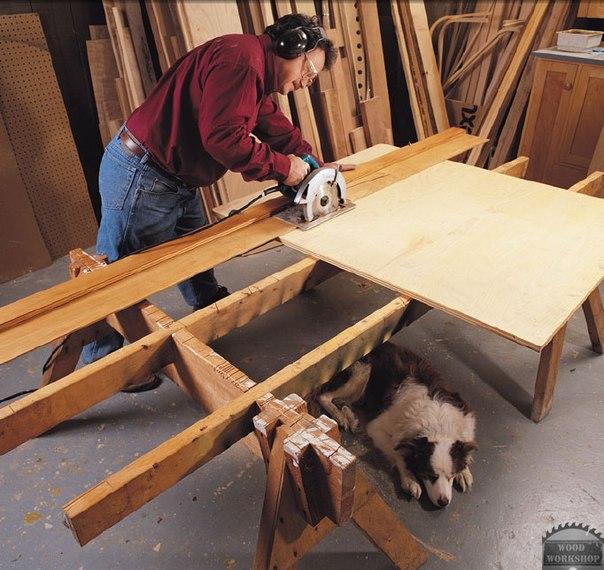 Раскройный стол своими руками для раскроя фанеры