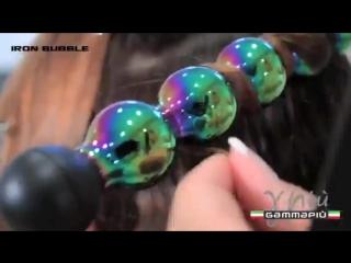 Плойка для завивки волос Bubbles от Gamma PIU, 25мм
