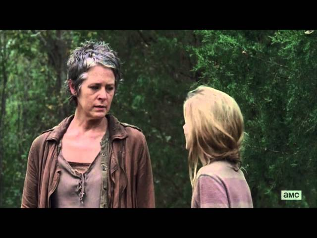 The Walking Dead Carol Kills Lizzie HD