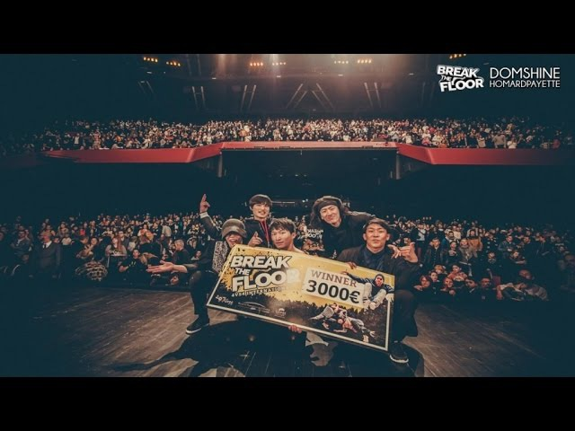 BREAK THE FLOOR 2015 | FINAL BATTLE MORNING OF OWL VS ILLUSION OF EXIST / PREDATORZ