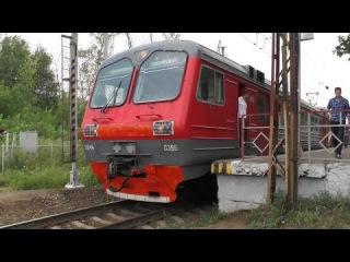 Электропоезд ЭД4М-0366 платформа Машиностроитель