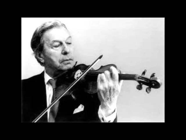 Пабло Сарасате Интродукция и тарантелла для скрипки с оркестром ор 43 Исполняет Натан Мильштейн