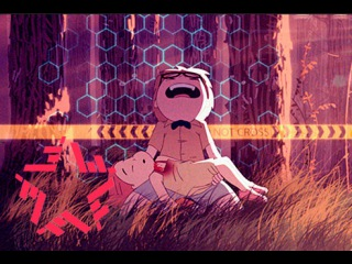 картинки мишка фредди аниме