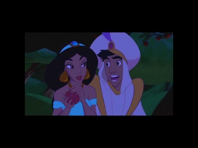 песня Аладдина и Жасмн - Волшебный Мир