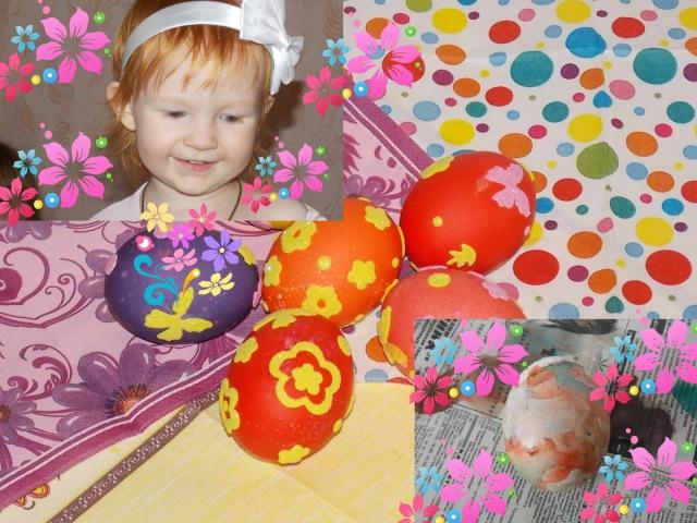 Как можно покрасить с ребенком пасхальные яйца /How to ...