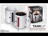 Чашка Индикатор меняет рисунок от тепла. Tank Up color changing mug. Tank Up kolor zmiana kubek