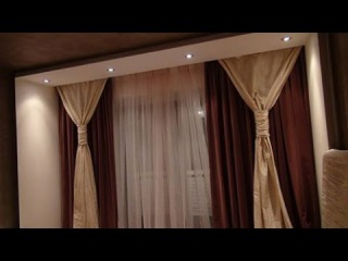 Красивые Занавески  в квартире ПРОЕКТ 119 серия