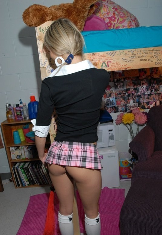 Panties fitting for a grownup girl