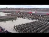Репеотция парада 9 мая. ВУНЦ ВВС ВВА