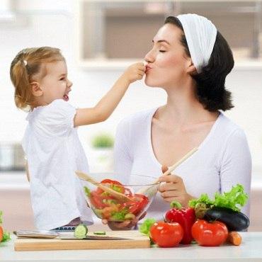 Правильное питание для детей.
