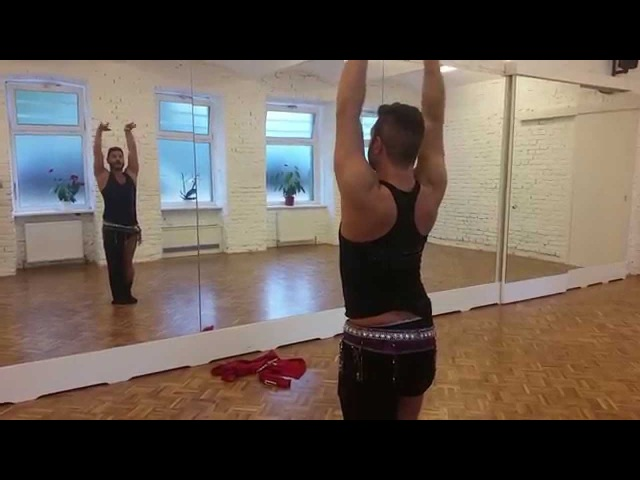 Typical arm movements for bellydancing of Azad Kaan's unique Style