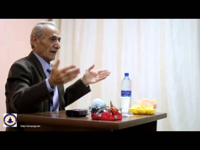 Հայկազ Սարգսյան - Դասախոսություն շնչառու13