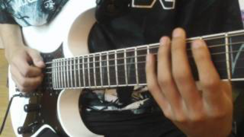John Petrucci - Glasgow Kiss (cover)