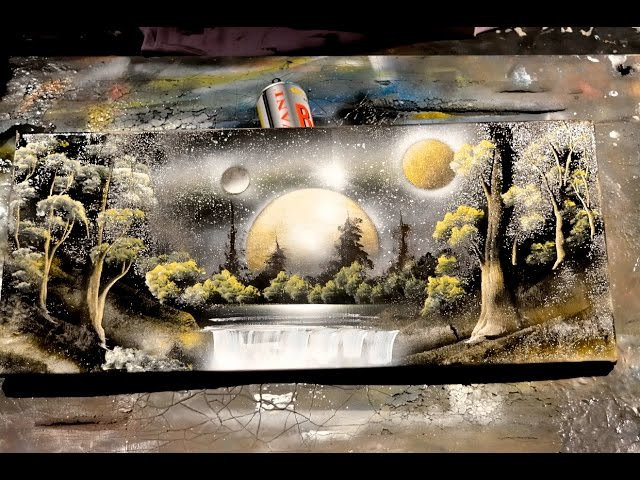 AMAZING SPRAY PAINTING 2015 (Art 3d pictures)