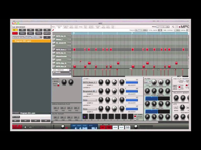 Akai Pro MPC Software Overview and Tutorial