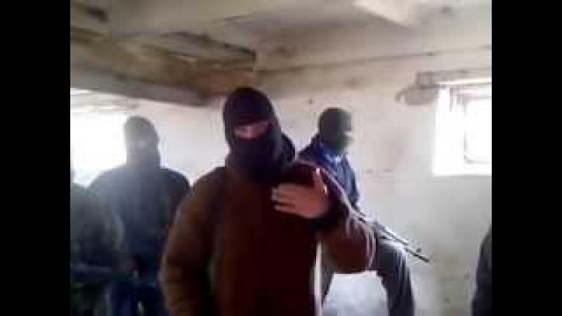 Мы объявляем вам войну Партизаны Донбасса записали первое видеообращение к оккупантам