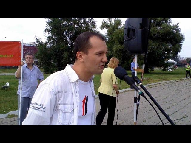 Подполковник К.Барабаш: преступную власть - к ответу