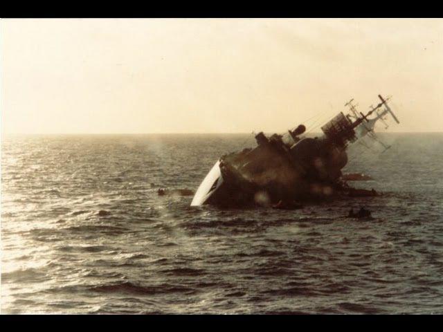 National Geographic Секунды до катастрофы Гибель эсминца Coventry