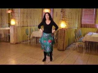 Уроки цыганского танца Венеры Ферарь №8 (gipsy dance lesson)