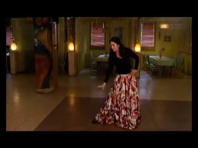 Уроки цыганского танца Венеры Ферарь №5 (gipsy dance lesson)