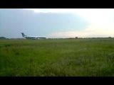 Аеропорт Черкаси приліт Embraer ERJ 145 (17.05.2014)