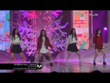 [MPD/직캠] 141225 Red Velvet(레드벨벳) - Happiness