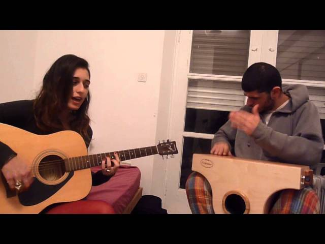 Amy Winehouse/Valerie-acoustic cover/By Avigail Danino and Boaz Blum
