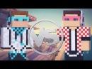 Лололошка vs  ФлэкДжиКей   Эпичная Рэп Битва в Майнкрафте!