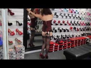 Leg Ave Stockings Bordello Lace Heels Shoes Of Hollywood