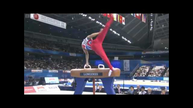 Louis Smith - Pommel Horse - 2011 World Championships - Event Final