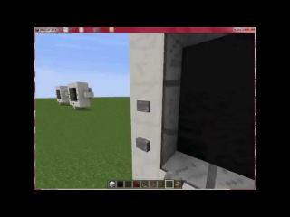 Как сделать телевизор в майнкрафт 1.7.4  (Без модов!)
