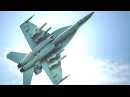 Boeing - F/A-18F Super Hornet Fighter Loaded With 4 Harpoon Block IC Missiles Flight Test [720p]