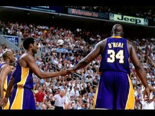 Shaq (30-12-3) & Kobe (32-6-3) 2001 Finals Gm 3 vs. Sixers - Horry & Kobe Clutch