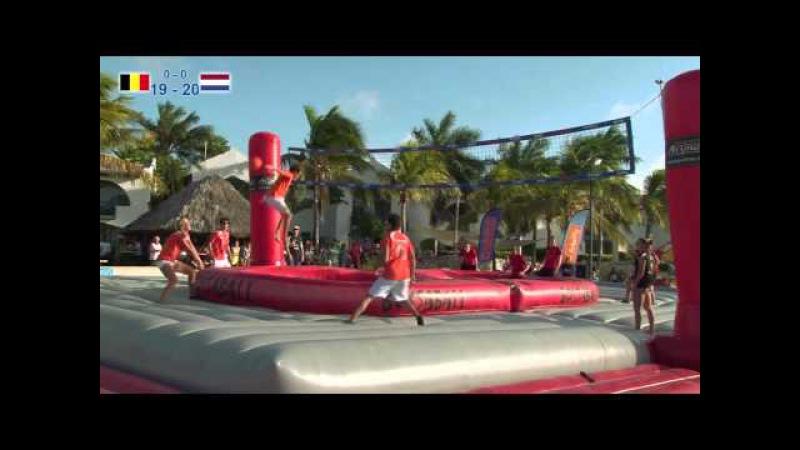 World Cup Bossaball Bonaire 2013