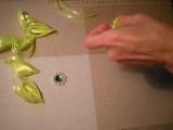Цветок Канзаши из Атласных лент. Своими руками Мастер- класс. - DIY Flowers
