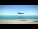Landing in || Rossiya Airlanes.