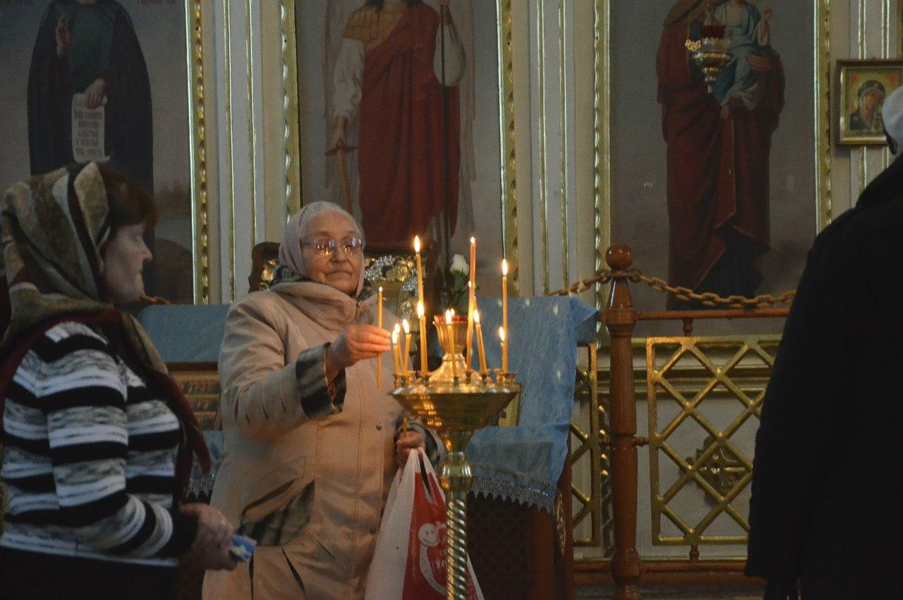 поставить свечку (23.12.2014)