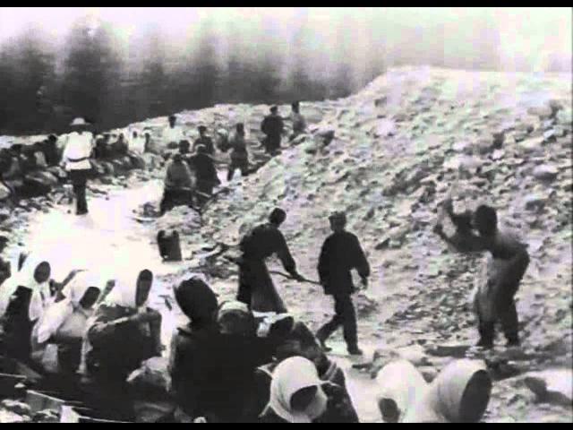 Добыча золота в Сибири в начале 20 века (1911-1915 гг.)