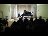 Daniel Kramer jazz improvisation, Gershwin Young Artist Competition Gala