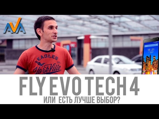 Смартфон Fly IQ4514 EVO Tech 4 обзор от