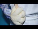 Как сшить ручки для чулочной куклы / How to sew a hand for stocking doll