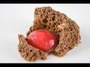 Molecular Gastronomy Frozen chocolate wind