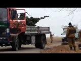 вот как выглядят диверсионные мобильные группы в Донецке и пригородах или огонь из ЗУ 23 2